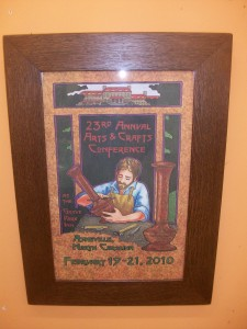 Grove Park Inn Conference Poster in New Frame