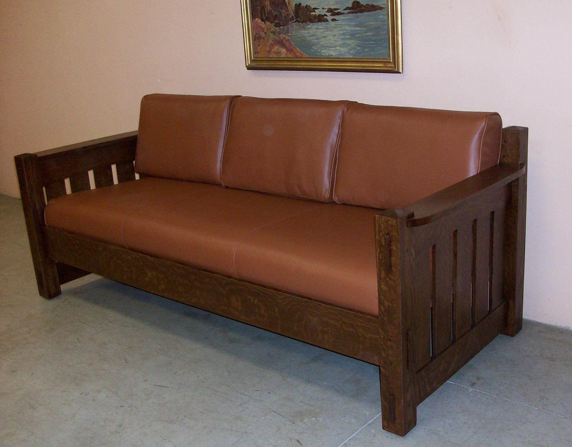Mission Oak Sofa New Limbert Style Settle Phil Taylor