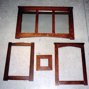 New Mission Oak Frames