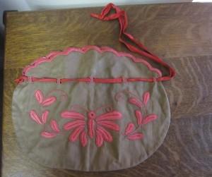 Arts & Crafts Linen Bag